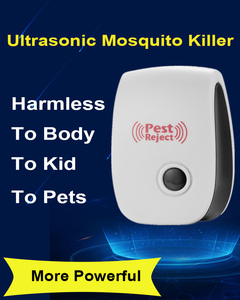 Image 2 - Mosquito Killer Repeller Fly Trap Control Ultrasonic Insect Repellent Mouse Anti Rodent Control Bug Reject Home Garden Supplies