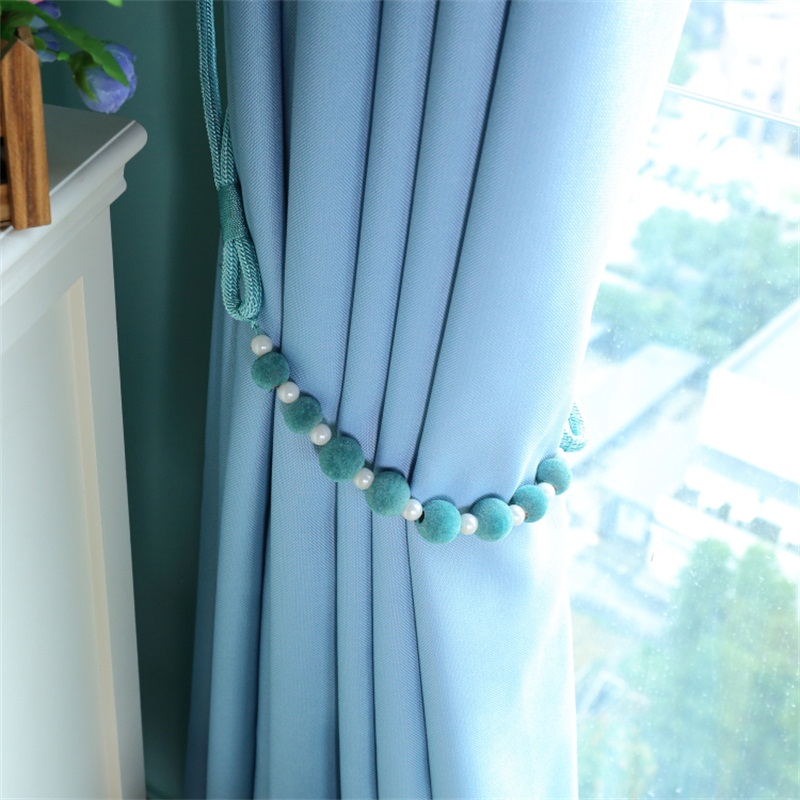 1 PCS DIY Curtain Holder Tieback Hand Woven Lanyard Strap Beautiful Beaded Tying Wholesale Cheap Accessories Cp06420 In Decorative