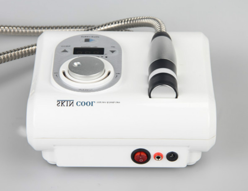 Cool And Hot Cryo Electroporation Face Skin Care Machine For Face Lifting Tighten Eye And Body Care Beauty Machine