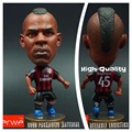 Soccer figurine sports stars Classic BALOTELLI  Movable joints resin model toy action figure dolls collectible boyfriend gift