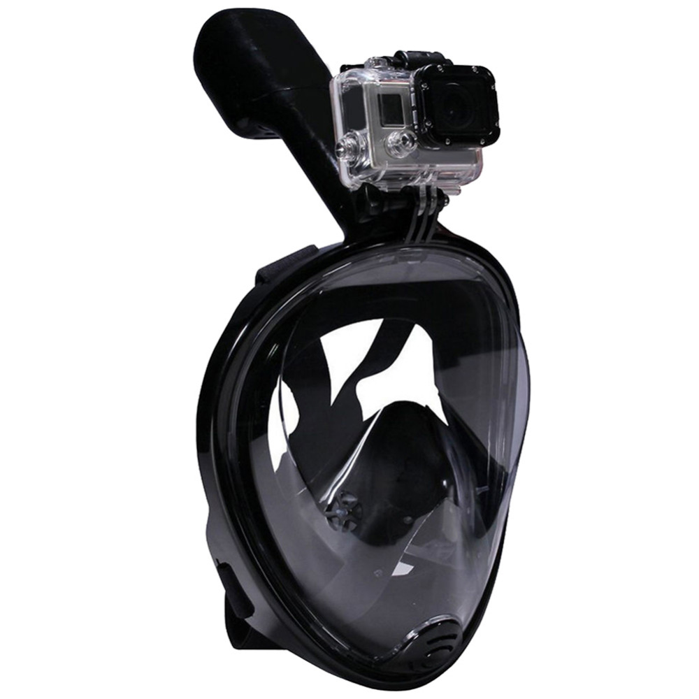 Swimming-Diving-Snorkeling-Full-Face-Mask-Surface-Scuba-for--L-XL-Black