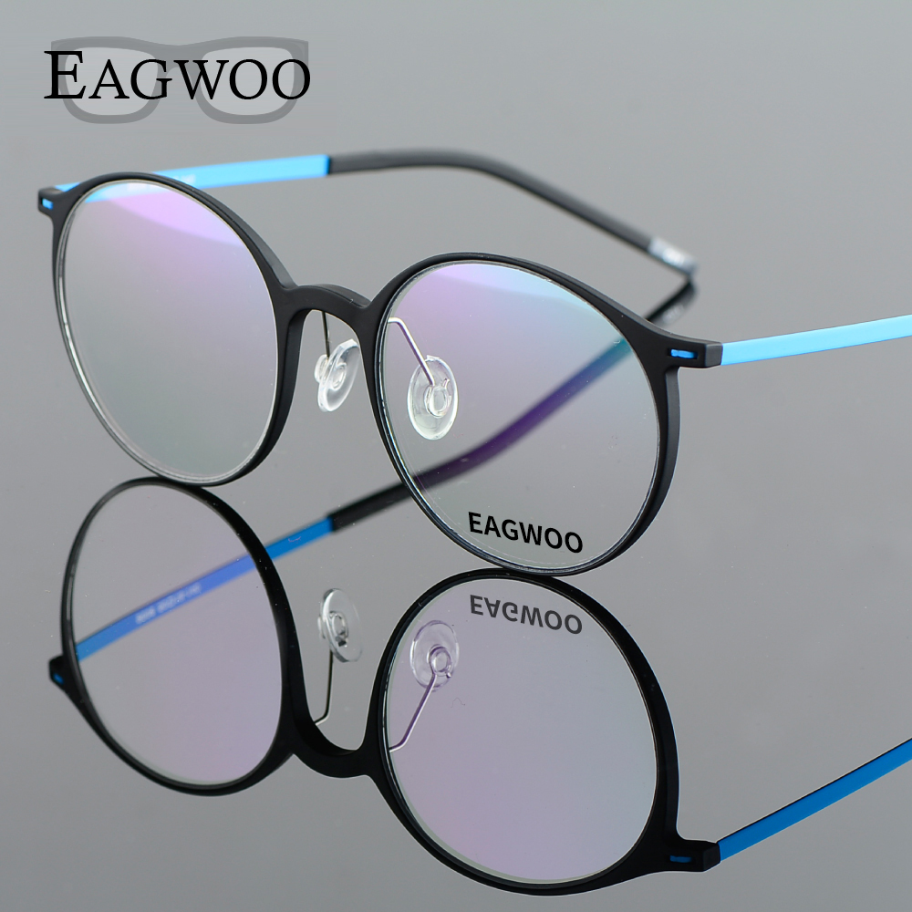 EAGWOO EMS Pure Titanium naočale Big Retro Harry Potter Optički - Pribor za odjeću - Foto 2