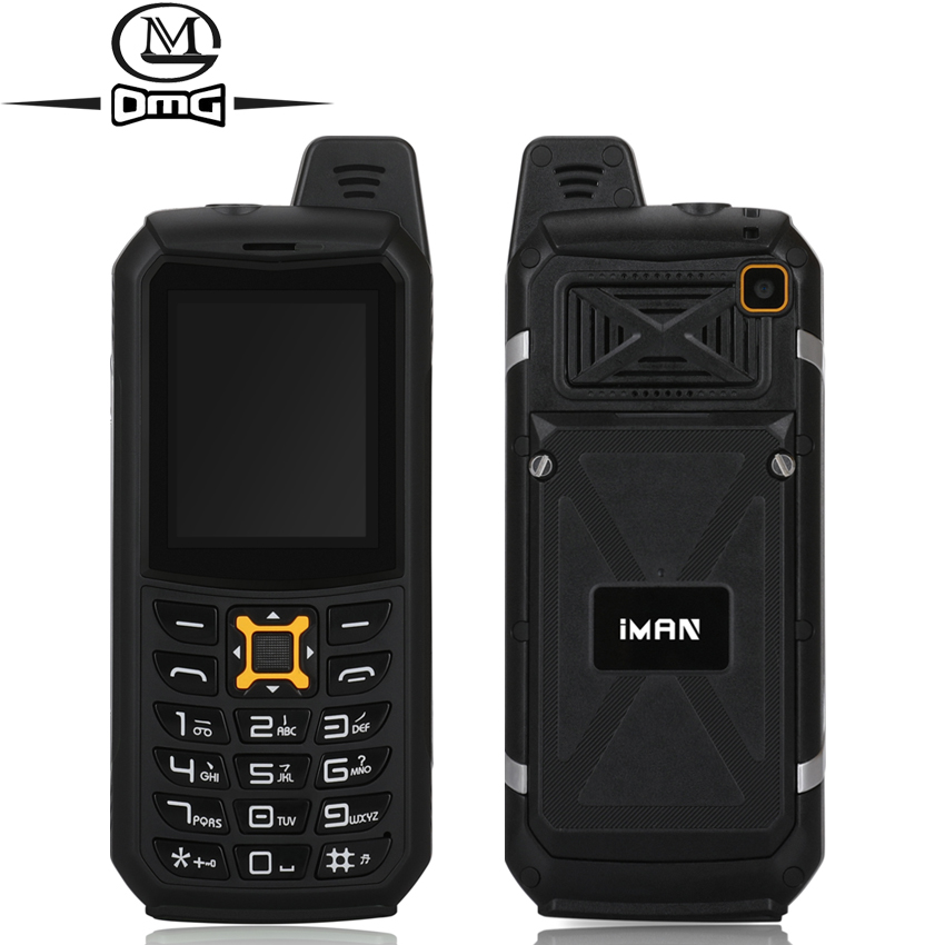 iMAN S2 IP68 Waterproof shockproof Mobile Phone Dual SIM Telephones Flashlight battery 2200mAh Cell phones