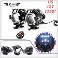 Универсальная металлическая фара для мотоцикла 12 В  фара для вождения  противотуманная фара для Suzuki TL1000S/R VS800 Intruder VZ800 Maraude