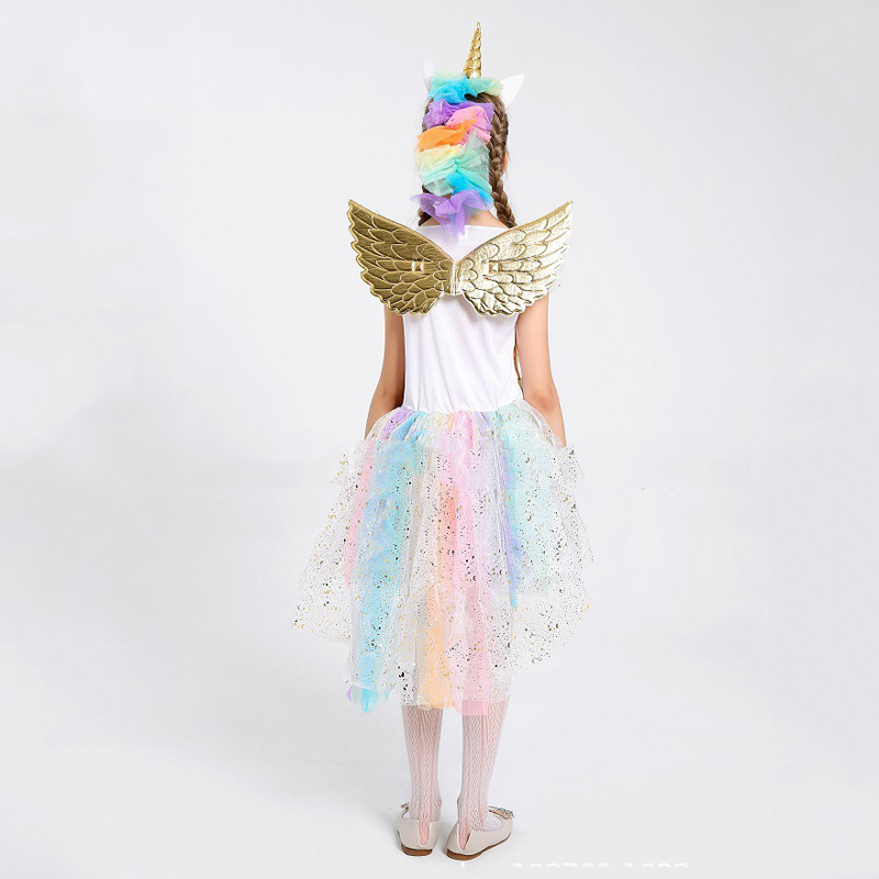 Tinkerbell Rainbow Fairy Tinker Girls Child Book Week Fancy Dress Costume