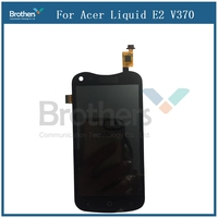 For Acer Liquid E2 V370 LCD Display Touch Screen Digitizer Assembly Phone Replacement Parts For Acer V370 LCD Screen