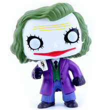 FUNKO POP 12cm Joker Batman The Dark Knight Villain's Edition Animation Action Figure PVC Model Toy Doll Brinquedos