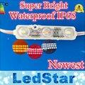 Samsung 5630 (5730) SMD CONDUZIU Os Módulos 3LED IP68 À Prova D' Água Levou Módulo ao ar livre Lightbox Iluminação quente branco fresco CE RoHS 12 V