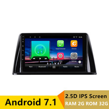 9″ 2+32G 2.5D IPS Android 7.1 Car DVD Multimedia Player GPS For  Peugeot 308 2016 2017 2018 audio car radio stereo navigation