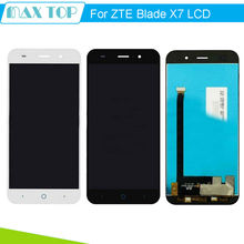 5.0 inch For ZTE Blade X7 D6 V6 Z7 LCD Display with Touch Screen Digitizer Panel Full Assembly Replacement Parts