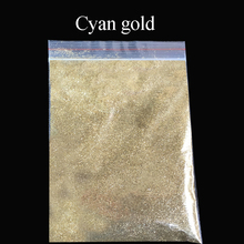 Collorful glitter cyan gold applied in printing ink paint cosmetics plastic leather handicrafts ornaments toys coating