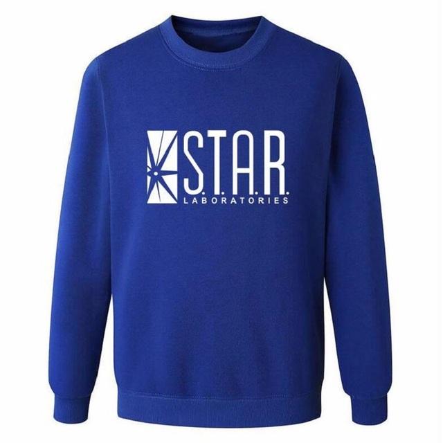 Superman Series Men Sweatshirt STAR S.T.A.R.labs autumn winter 2016 new fashion hoodies cool streetwear tracksuit high quality