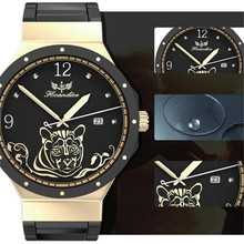 Hot 1PC Women Fashion Stainless Steel Band Quartz Wrist Watch Z530