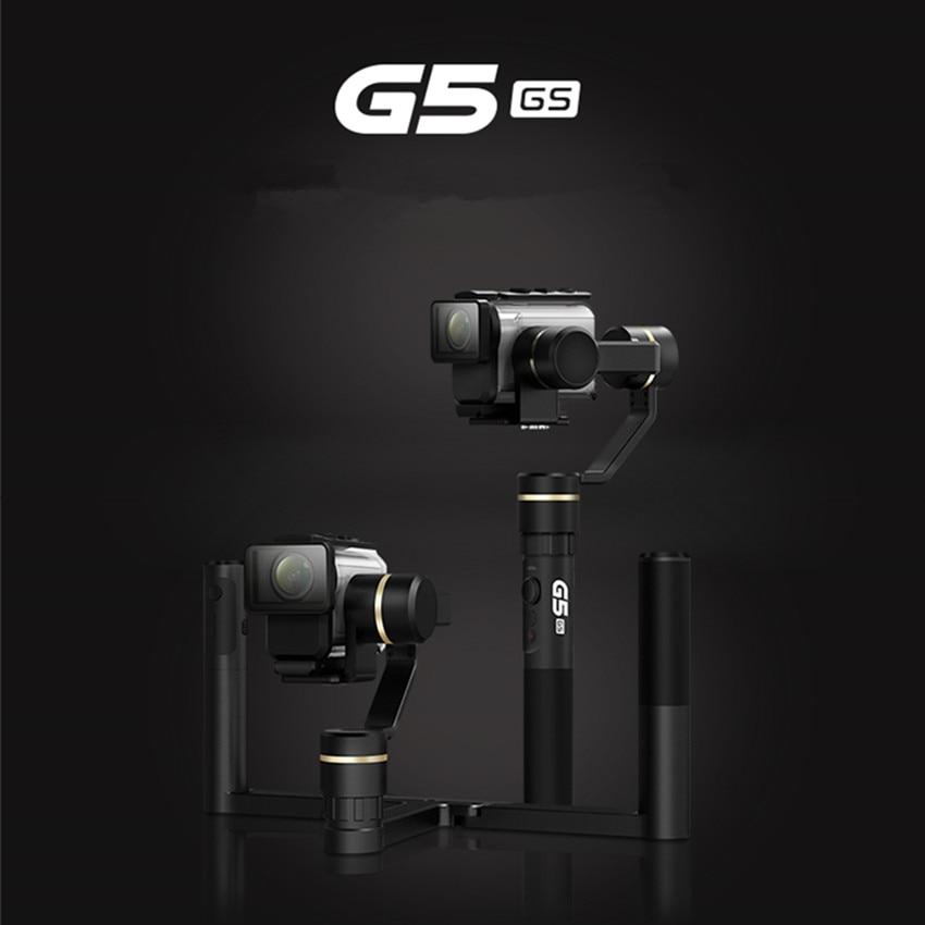 FeiyuTech Feiyu G5GS Gimbal 3-Axis Handheld Stabilizer for Sony AS50 AS50R Sony X3000 X3000R Camera Splash Proof feiyu tech g5 3 axis handheld gimbal action camera stabilizer splash proof design for hero5 hero4 hero3