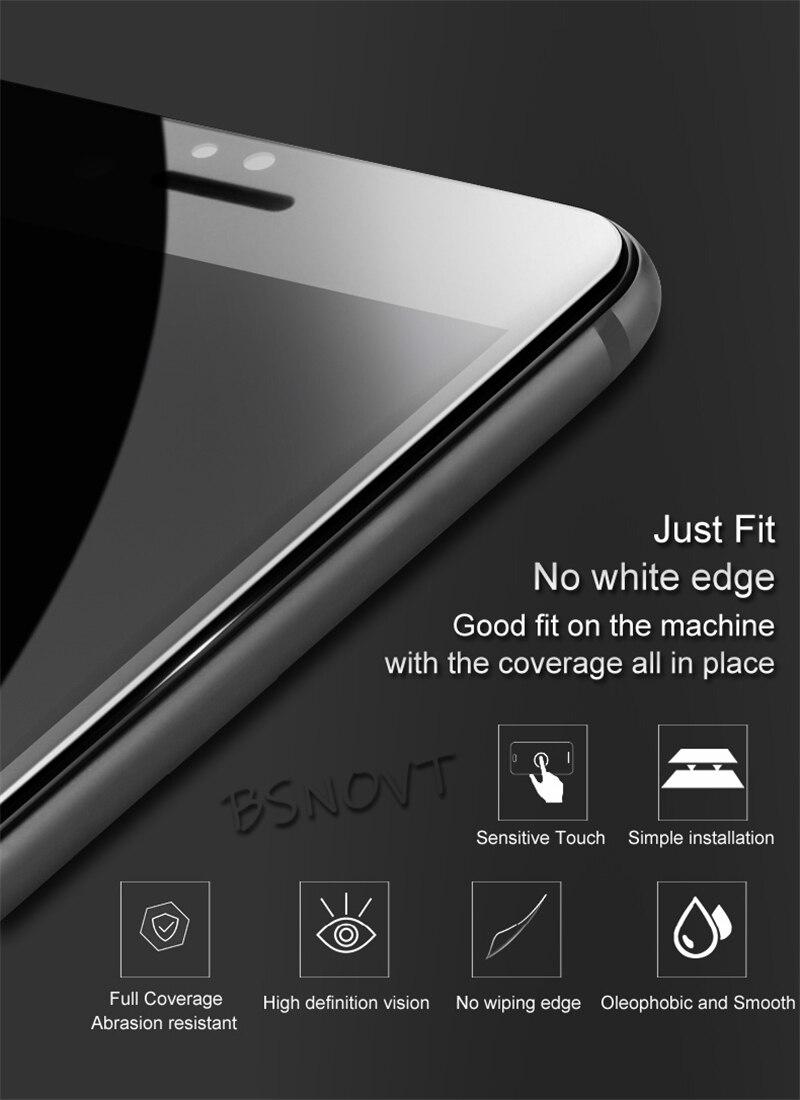2pcs Full Cover&Full Glue Screen Protector For Huawei Nova 3i Glass Full Coverage Tempered Phone Glass Nova 3i / P Smart Plus