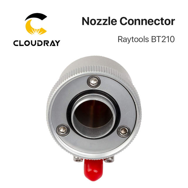 Cloudray Raytools Fiber Laser Cutting Head BT210 BT210S Nozzle Connection  Part for Fiber Metal Cutting Machine