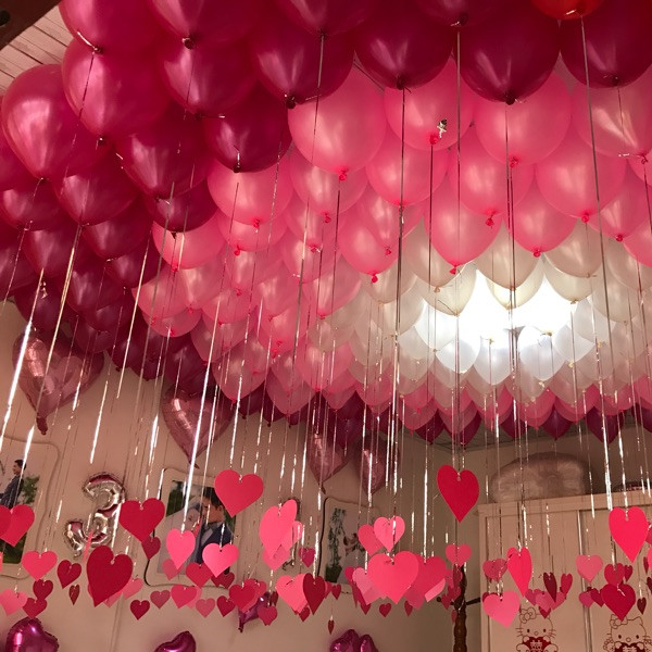 100pcs Lot 10 Inch 1 8g High Quality Pearl Balloon Pink Red White Color Wedding Decoration Party Supplies Marriage