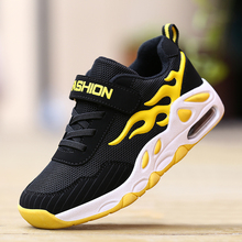 ULKNN Childrens sports shoes boys 2019 breathable mesh casual 6 primary school students 8 10 years old