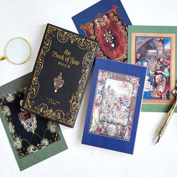 цена 30 Pcs/lot New Book of destiny Aristocratic lady  Greeting Card Postcards Birthday Gift Greeting Card/wish Card/Fashion Gift онлайн в 2017 году