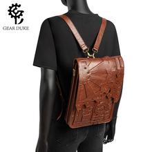 GearDuke Vintage Shoulder Bag Women Backpack Steampunk Backp
