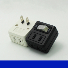 110V-220V 10A Mini travel adapter With independent switch Travel converter plug