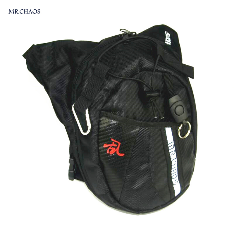 2017free shipping Black Motorcycle Package Knight Waist Bag Multifunctional Backpack Motorcycle Bag Drop Leg Bag Moto Accessorie