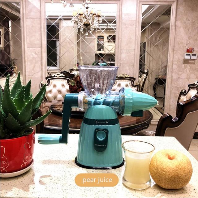 Multifunction Portable DIY Manual Juicer Fresh Apple Orange wheatgrass juicer Machine Health Kitchen Tools extracteur 6