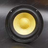 HIFIDIY LIVE HIFI 4 inch 4.5 Midbass Woofer speaker Unit 4 / 8 OHM 50W Glass fiber vibratory basin Loudspeaker BK4 116S