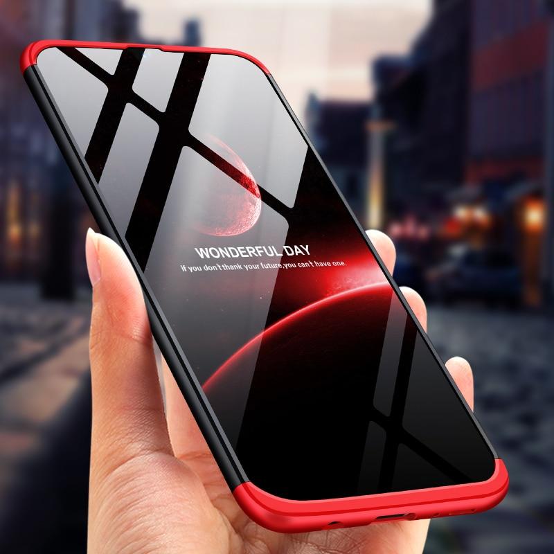 Étui pour samsung Galaxy A50 A30 A10 A70 A60 Cas 3 dans 1 360 Pleine Protection Antichoc étui pour samsung Galaxy M30 M20 M10 couverture
