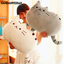 2017NEW 40*30cm 5 Styles  Cat Plush Toys Stuffed Animal Dolls Shape Pillow Toy For Kid Cute Cushion Gifts Home Decoration