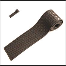 Rubber Sticker Rear Guard Bumper Protector Trim Cover Trunk Scratch Pad Car Styling