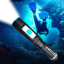 XM-L2 18650 Diving flashlight LED Underwater Flashlights Waterproof Portable Lantern Lights dive light Lamp Torch xm l2 18650 diving flashlight led underwater flashlights waterproof portable lantern lights dive light lamp torch