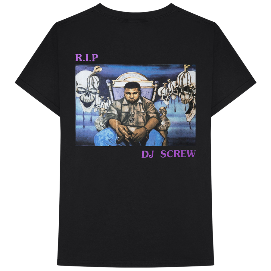 details sur astroworld rip dj screw t shirt travis scott merch gift print t shirt hip hop tee. Black Bedroom Furniture Sets. Home Design Ideas