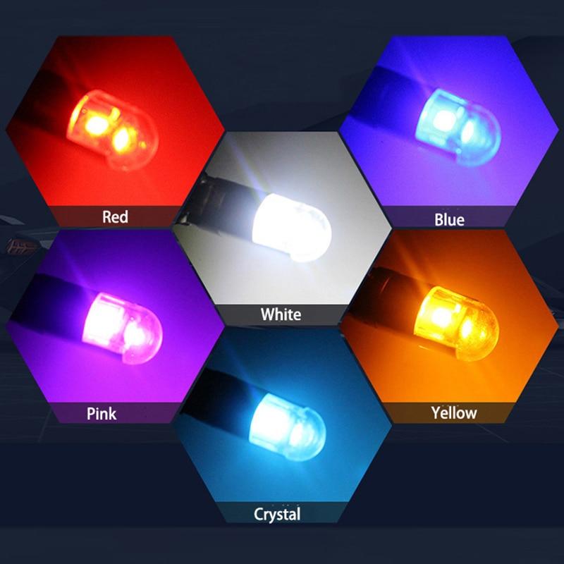 Meetrock 2 бр T10 LED светлина за кола SMD 3030 - Автомобилни светлини - Снимка 5