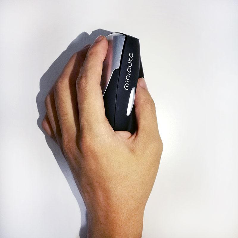 Prix pour Meilleur Gauche main sans fil laser corps humain génie vertical souris Ergonomique Conception USB Vertical Optical Mouse Wrist Guérison