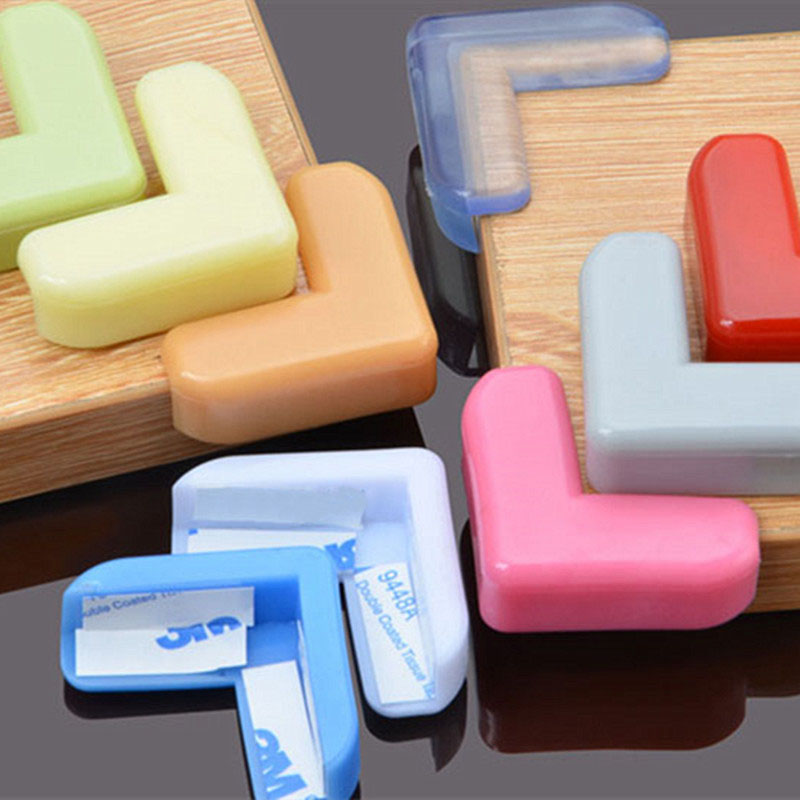 10PCS PVC Soft Multicolor Baby Children Kids Safe Bed Table Desk Corner Protector Furniture Accessories 20pcs pvc soft baby children kids safe bed table desk corner protector cover furniture accessories white green coffee
