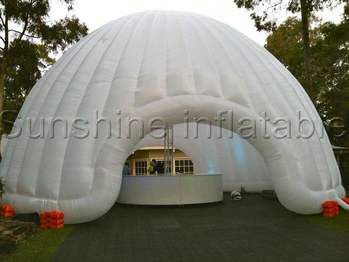 Großes geführtes weißes Mondaufenthaltsraum aufblasbares - Outdoor-Spaß und Sport - Foto 2