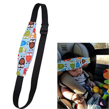 1pc Infant Baby Car Seat Head Support Children Belt Fastening Belt Adjustable Playpens Sleep Positioner Toddler Kids Accessories(China)