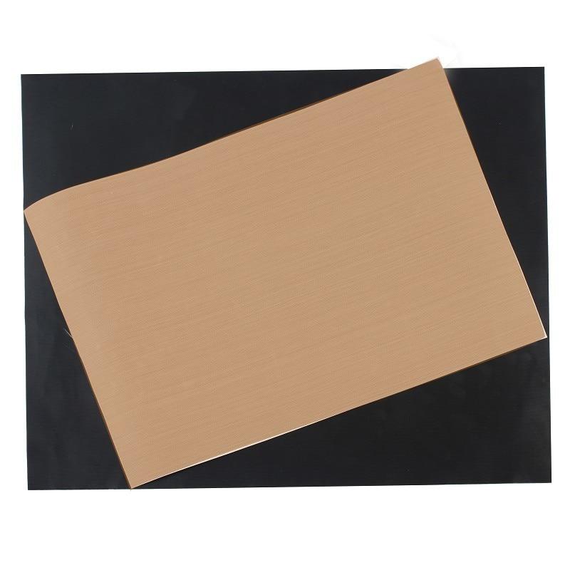 2pcs Set Reusable No Stick Bbq Grill Mat Surface Hot Plate