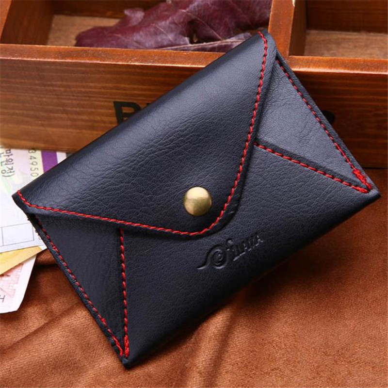 2017 New Mini bag leather coin purse header key wallet money card holder change wallet Pouch Change Purse wholesale High Quailty