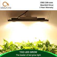CREE CXB3590 200W COB LED Grow Light Full Spectrum Dimmable 26000LM = HPS 400W Growing Lamp Indoor Plant Growth Panel Lighting недорого