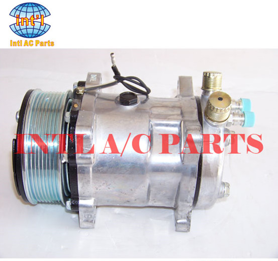 US $56 0 |auto a/c compressor for SANDEN 508 SD508 for Universal car 8pk  SANDEN air conditioninger ac compressor-in Air-conditioning Installation  from