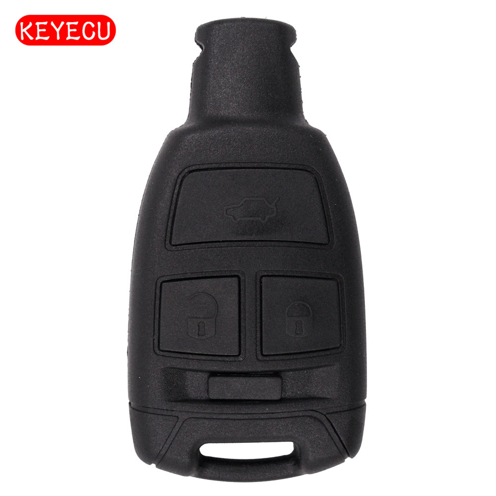 Keyecu 5pcs lot Replacement Shell Smart Remote Key Case Fob 3 Button for Fiat Croma