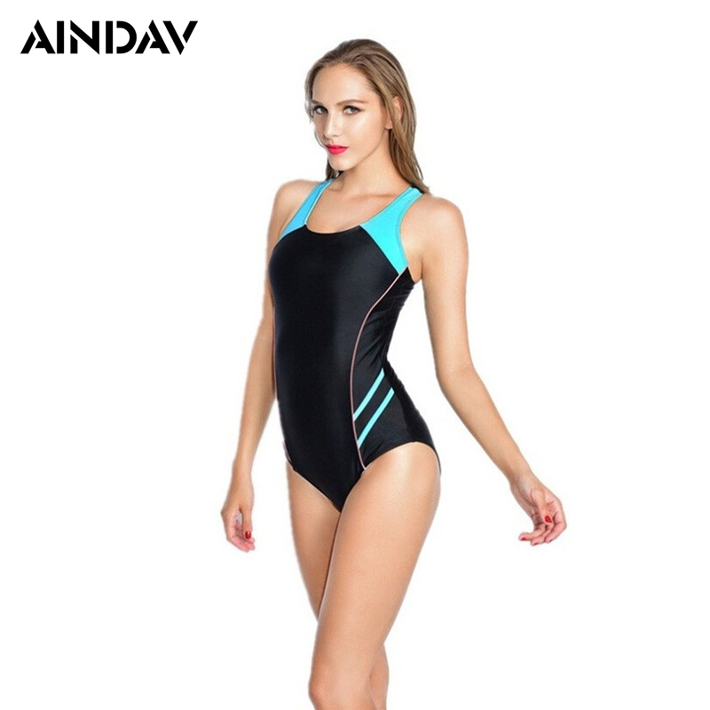 Maillot de Treinamento Atlético Esporte Swimsuit One Piece Mulheres Maiô Monokini Triquini Corrida Plus Size Swimwear Badeanzug