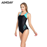 Maillot Athletic Training Trikini Sport Swimsuit One Piece Bathing Suit Women Monokini Racing Plus Size Swimwear