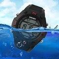 Skmei eletrônico led relógio digital à prova d' água homens esportes militares relógios de pulso cronógrafo alarme relógio relogio masculino