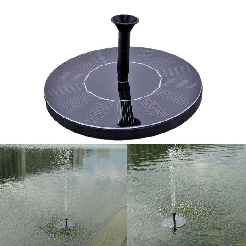 7 v Solar Powered Pompa Fontana Pompa Acqua Giardino Pompa Esterna di Galleggiamento per Birdbath Fontana Decorazione del Giardino