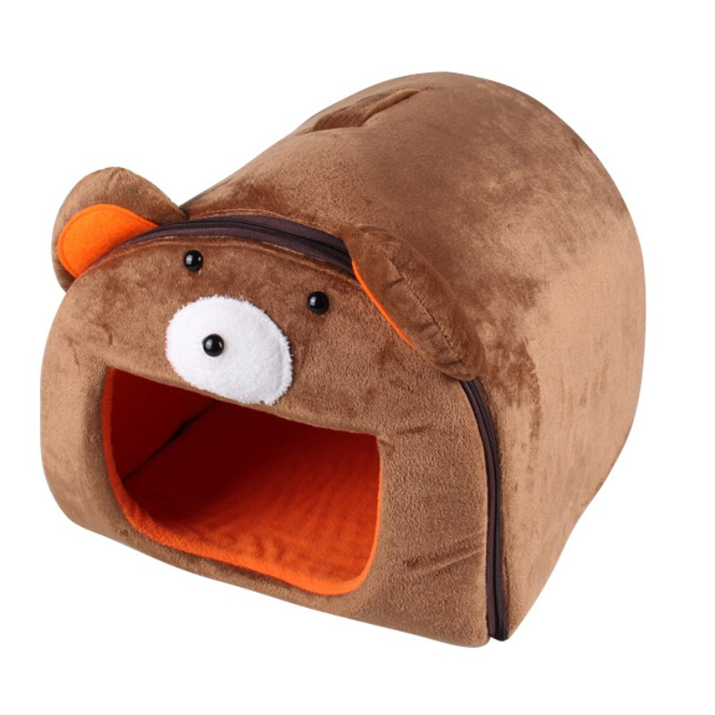 Guinea Pig Hedgehog Bed House Hamster Small Animal Sleeping Bag Soft Nest Bed 18%