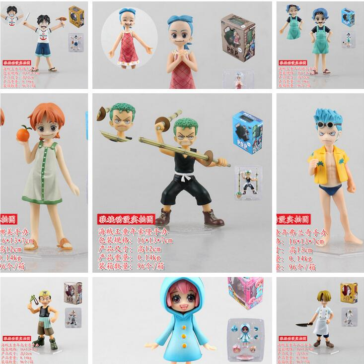 12cm One Piece Robin Rebecca nami zoro Anime Collectible Action Figures PVC Collection toys for christmas gift with retail box puzzle 1000 семь леопардов tinga 29427