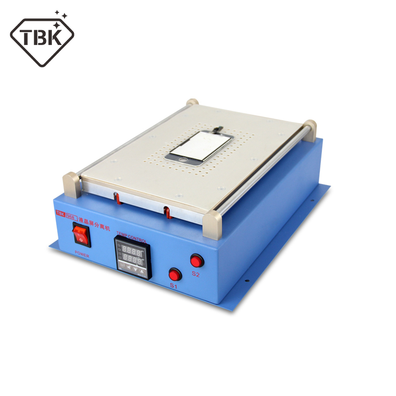 TBK-968 2 in 1 Multifunction LCD Repair Machine set Built-in Vacuum Pump Touch Screen LCD Separator for Samsung iPad